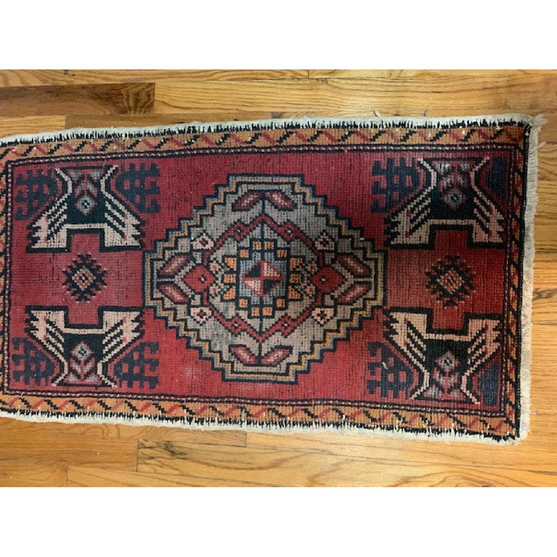 Vintage Turkish Wool Rug - image-2