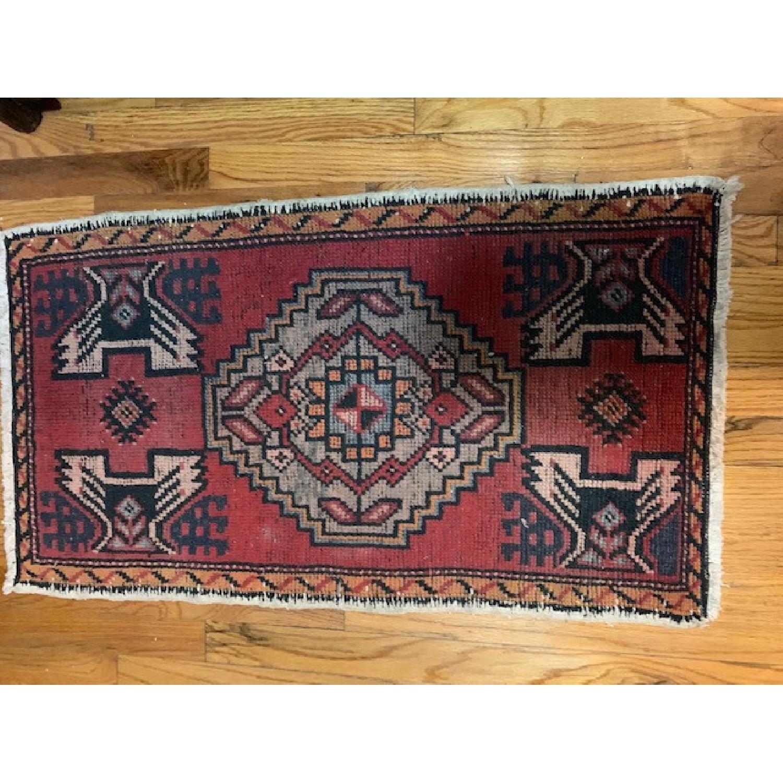 Vintage Turkish Wool Rug - image-3
