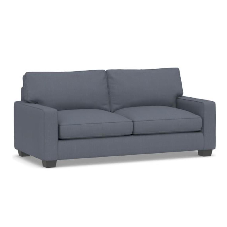 Pottery Barn Comfort Upholstered Sleeper Sofa - image-0