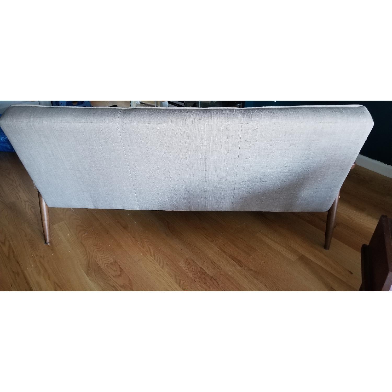 Zuo Mod Grey Mid Century Modern Sofa - image-3