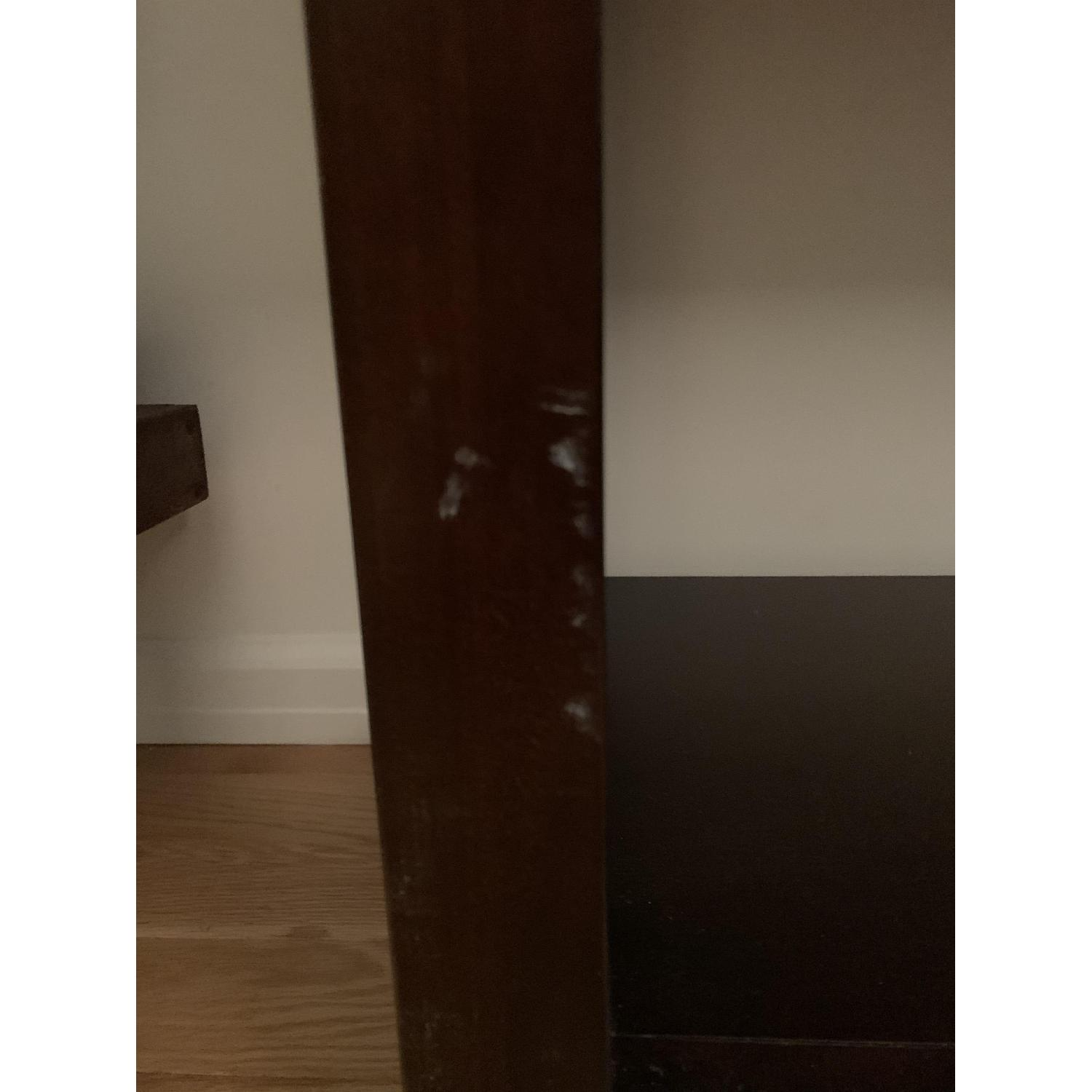 Crate & Barrel Media Console w/ 2 Media Towers - image-7