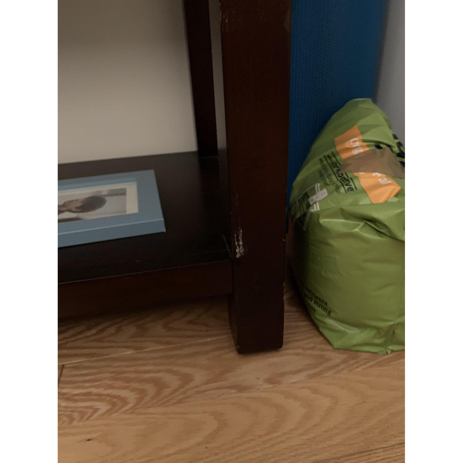 Crate & Barrel Media Console w/ 2 Media Towers - image-6