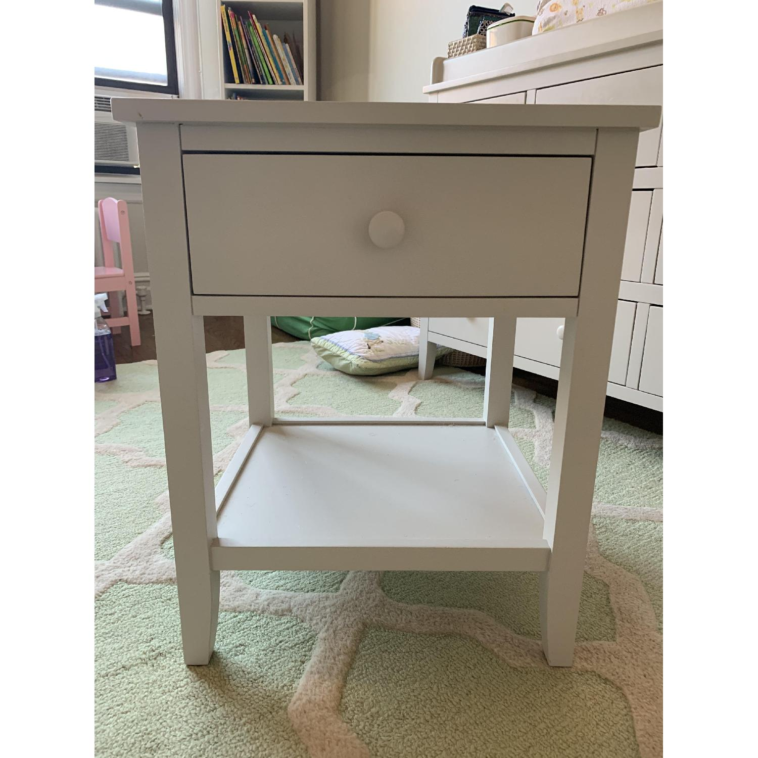 Pottery Barn Emerson Nursery Side Table - image-1