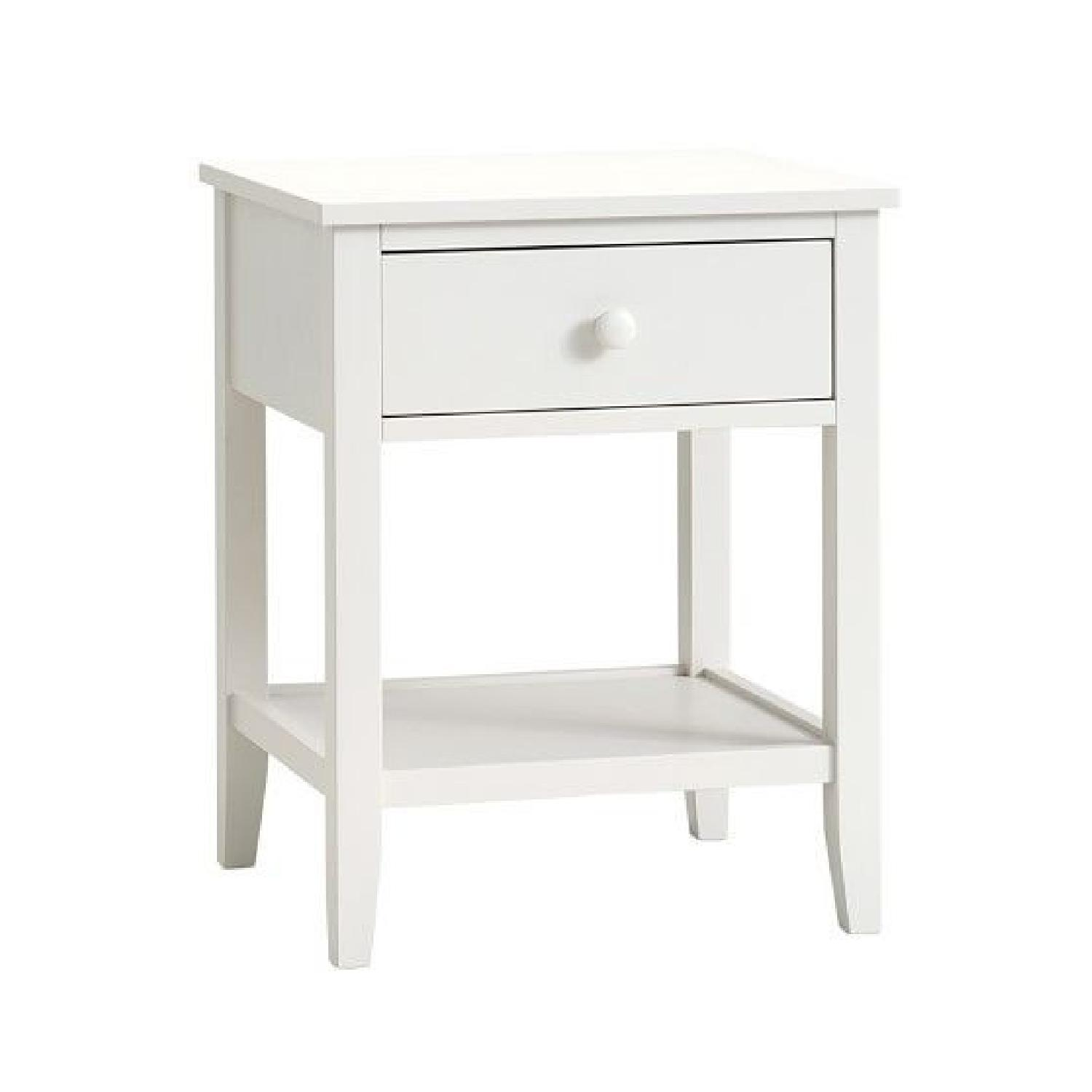 Pottery Barn Emerson Nursery Side Table - image-0