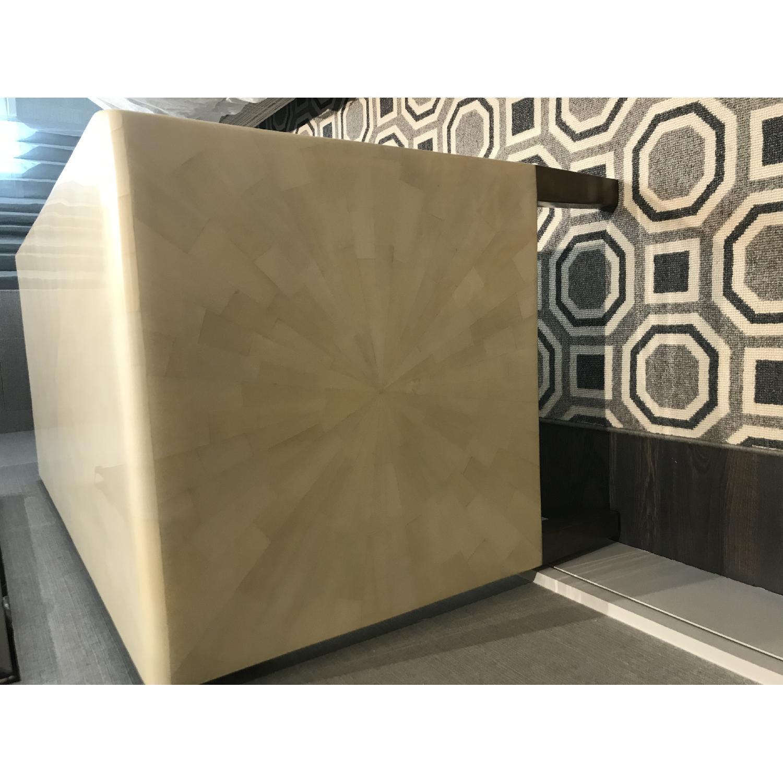 Made Goods Ivory Faux Horn Desk - image-8