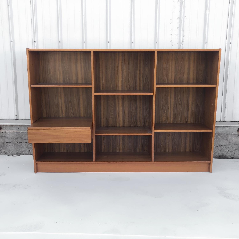 Jesper Scandinavian Modern Teak Bookcase - image-1