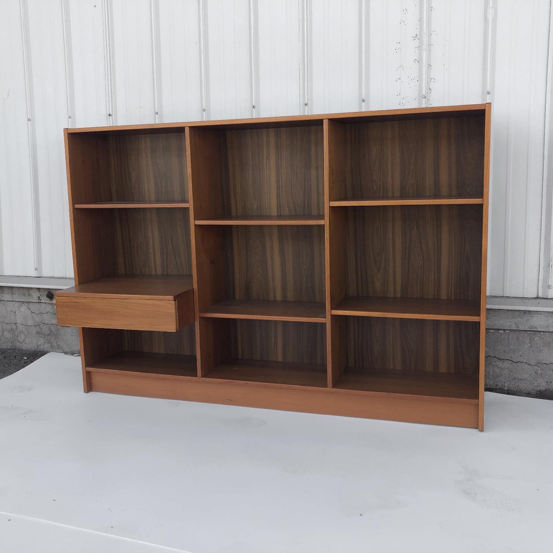 Jesper Scandinavian Modern Teak Bookcase - image-3