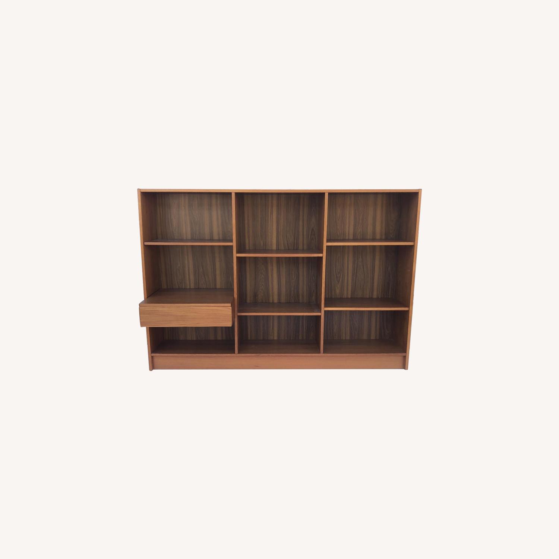 Jesper Scandinavian Modern Teak Bookcase - image-0