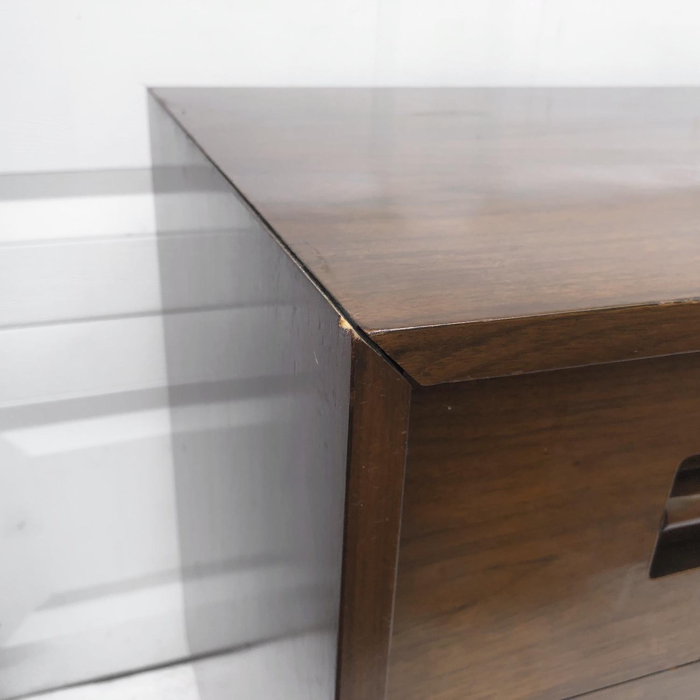 Mid-Century Modern Dresser w/ Mirror - image-7
