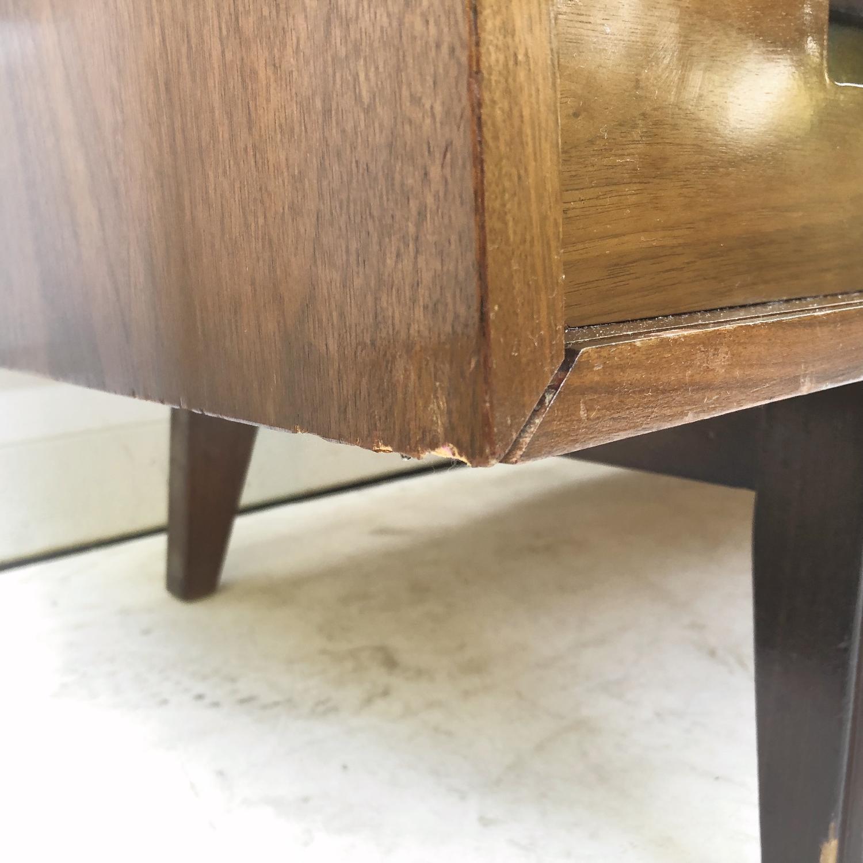 Mid-Century Modern Dresser w/ Mirror - image-9