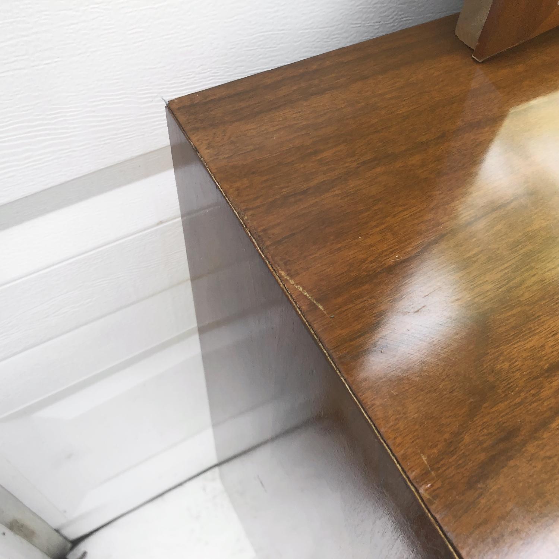 Mid-Century Modern Dresser w/ Mirror - image-11