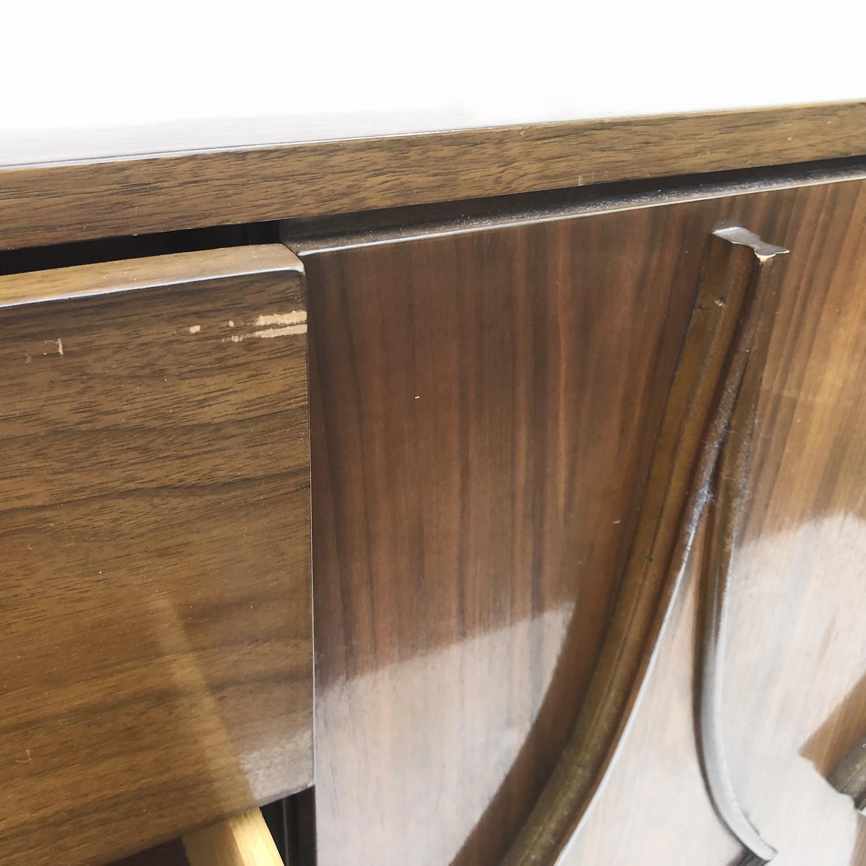 Mid-Century Modern Dresser w/ Mirror - image-10