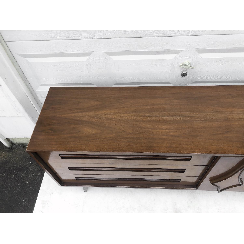 Mid-Century Modern Dresser w/ Mirror - image-16