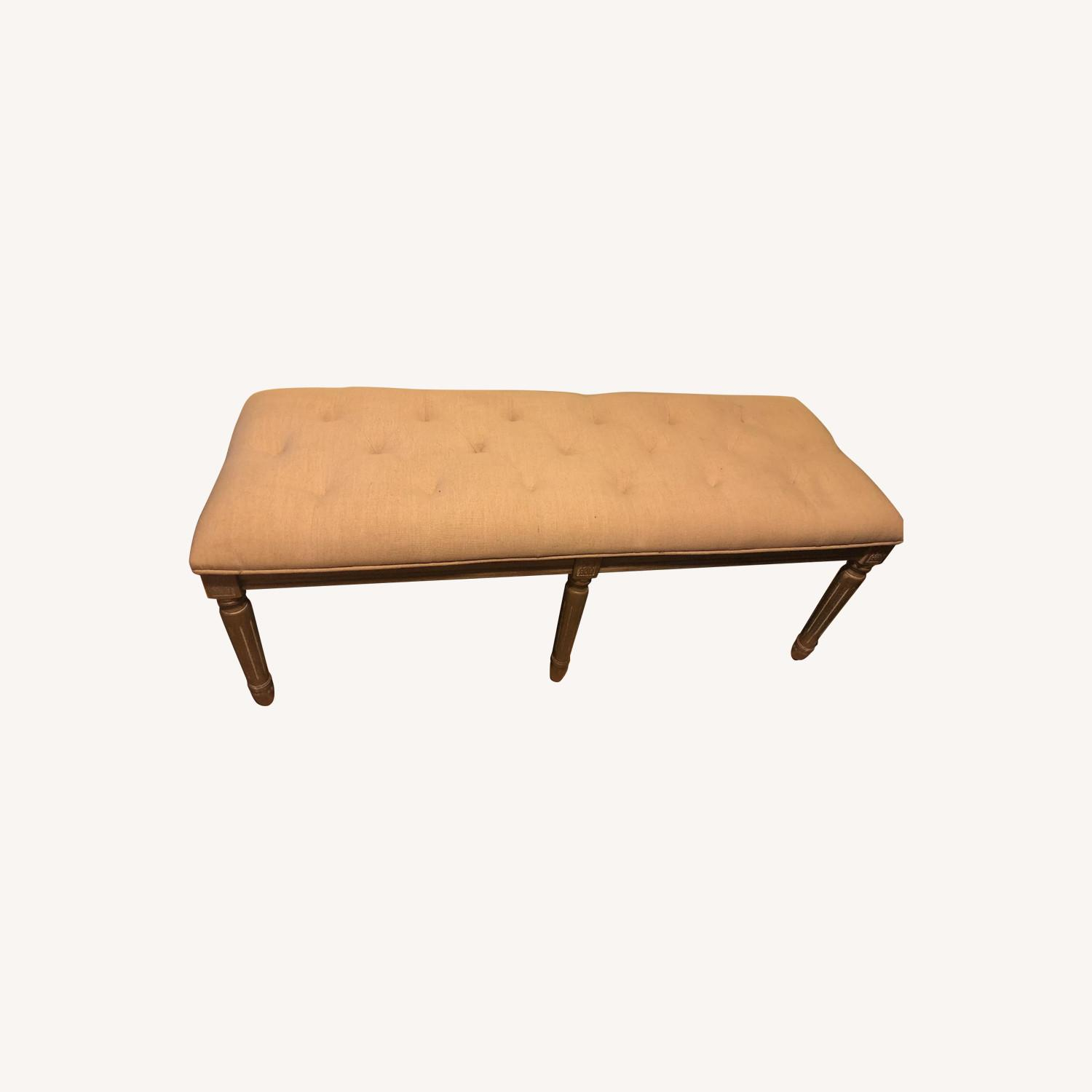 Tufted Bench - image-0