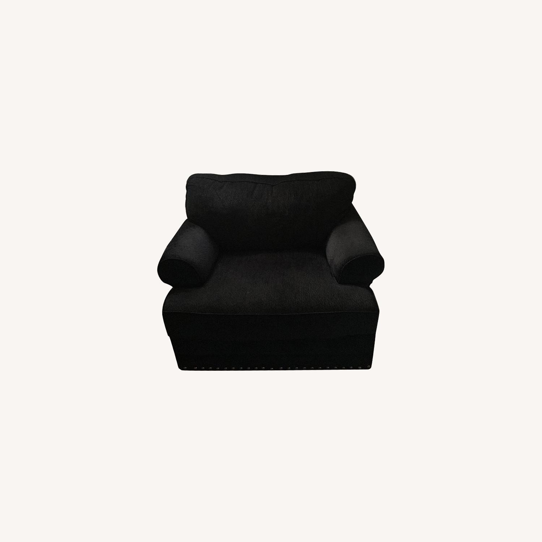 Bob's Black Armchair - image-0