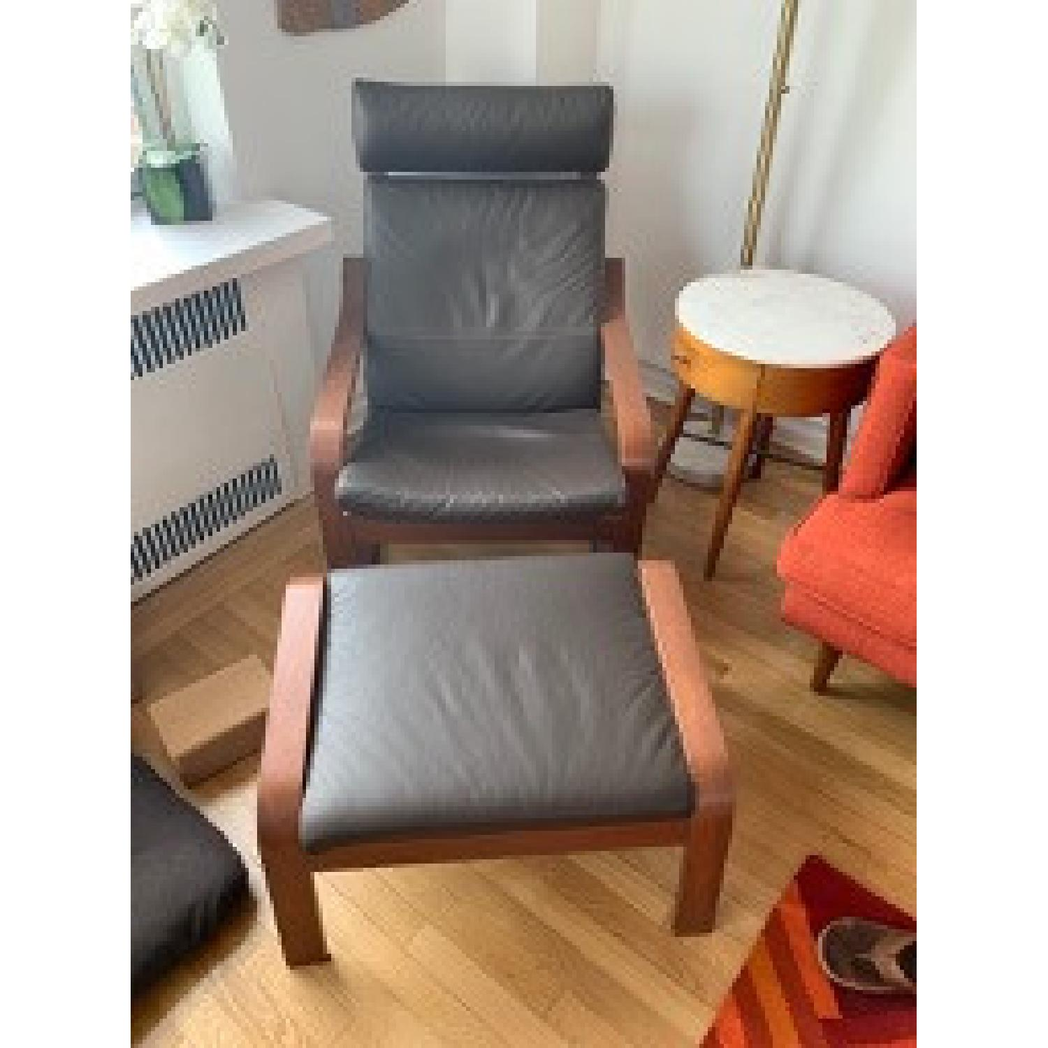 Awe Inspiring Ikea Poang Recliner Ottoman Aptdeco Ocoug Best Dining Table And Chair Ideas Images Ocougorg