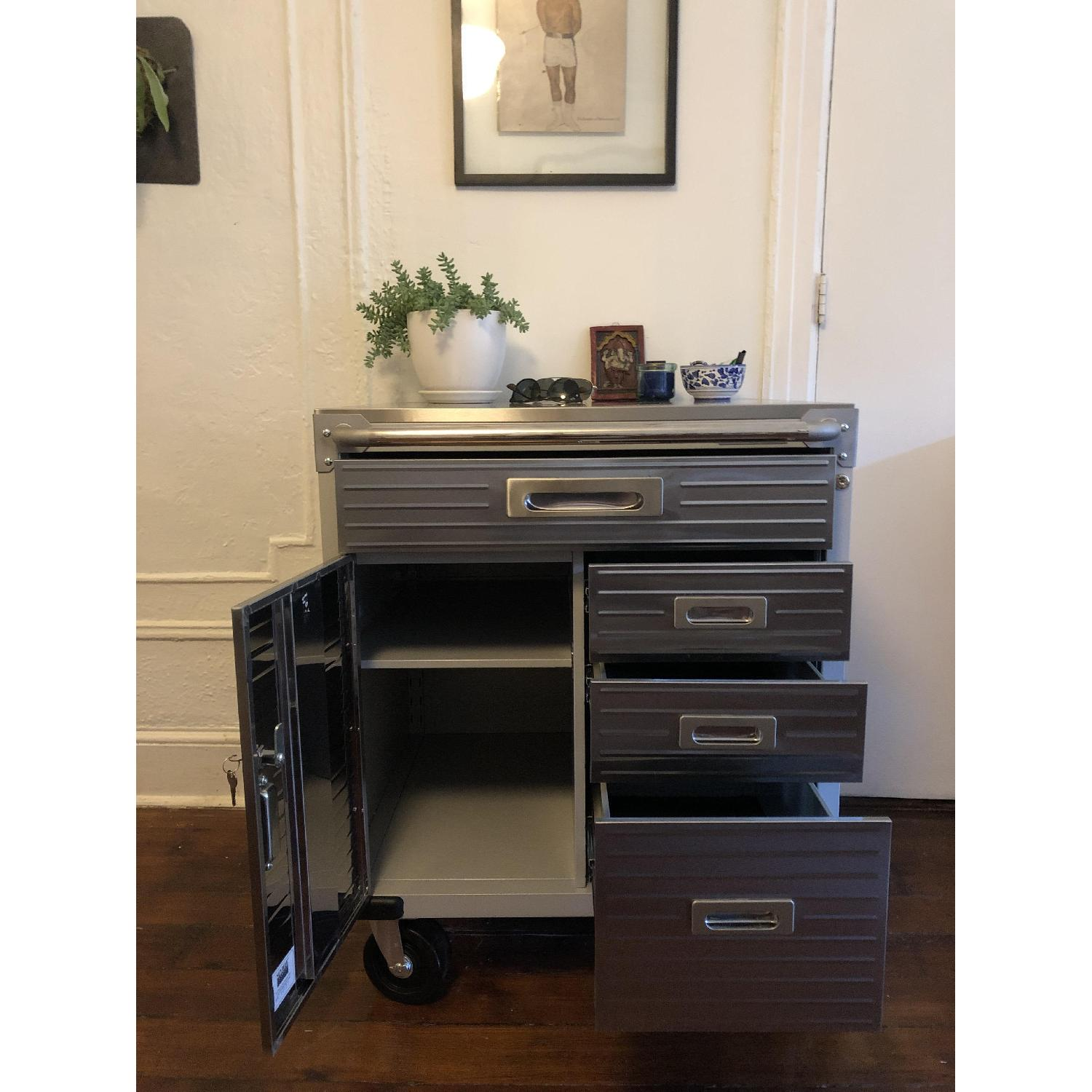 Seville Classics UltraHD 4-Drawer Rolling Storage Cabinet - image-4