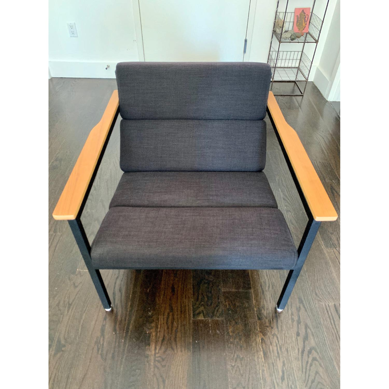 Gus Modern Halifax Chair in Laurentian Onyx & Black - image-2