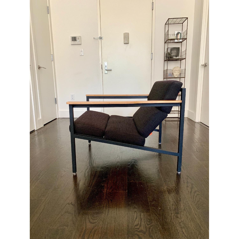 Gus Modern Halifax Chair in Laurentian Onyx & Black - image-3