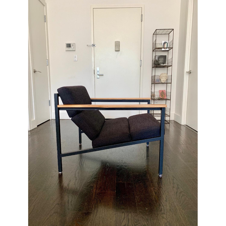 Gus Modern Halifax Chair in Laurentian Onyx & Black - image-4