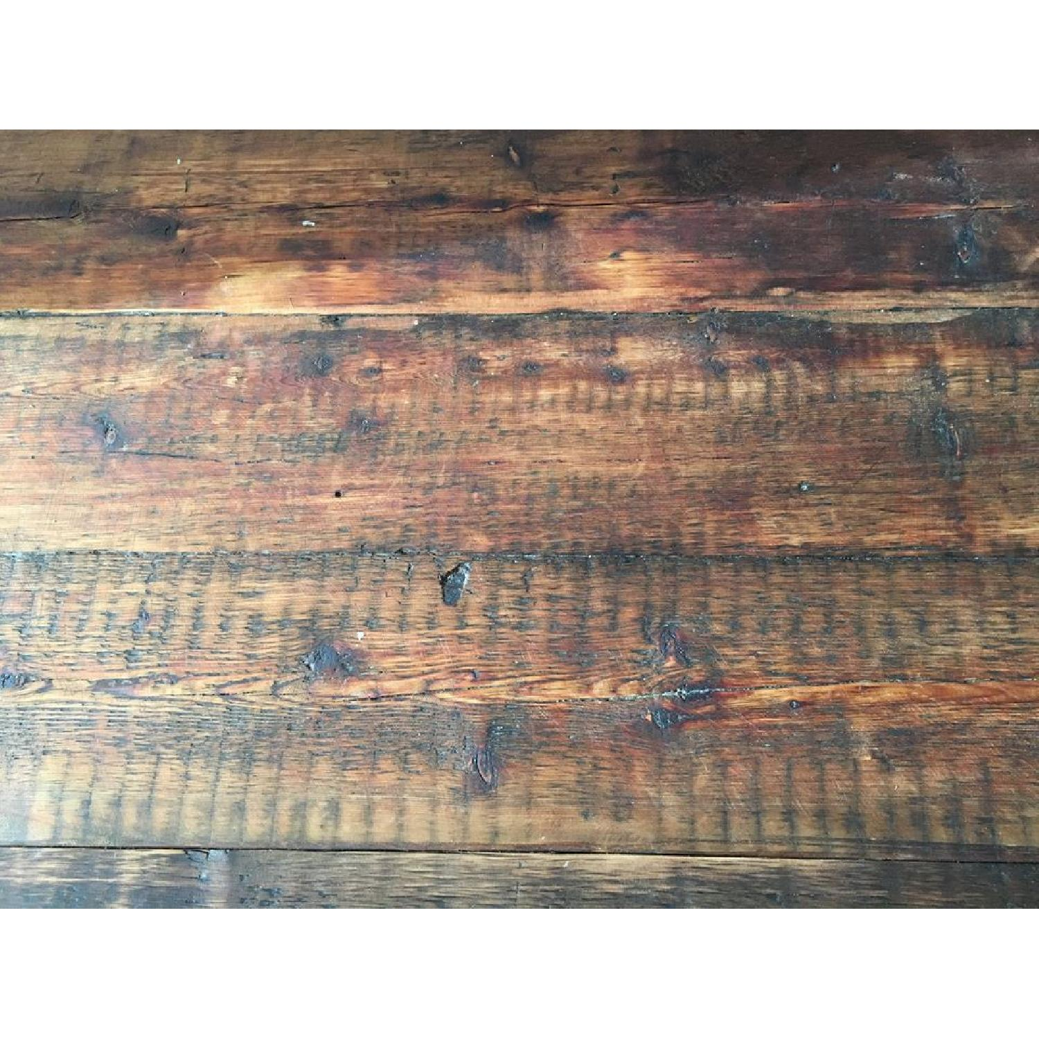 Rustic Dining Table w/ 1 Bench - image-3