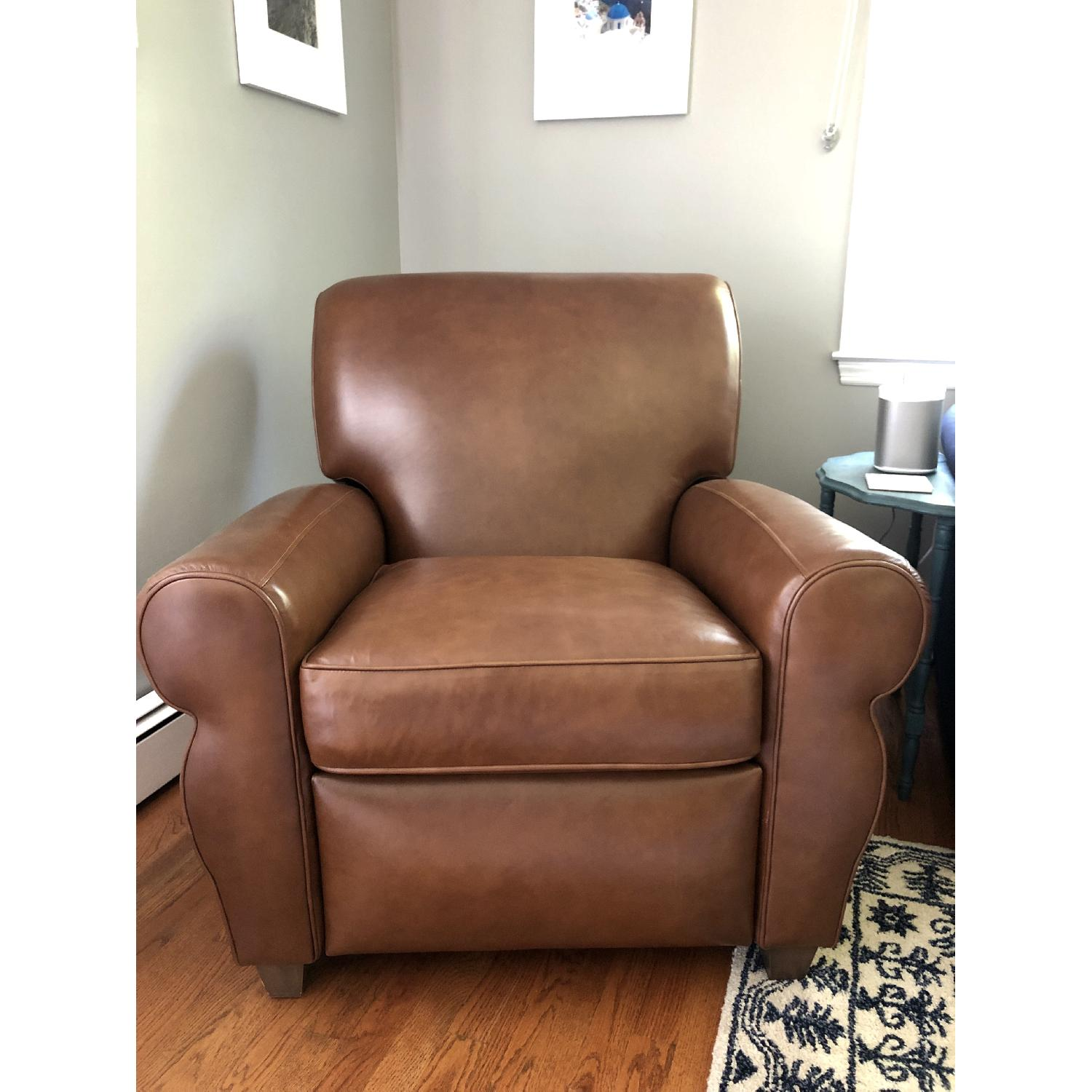 Club Furniture Parker Leather Club Chair Recliner - image-1