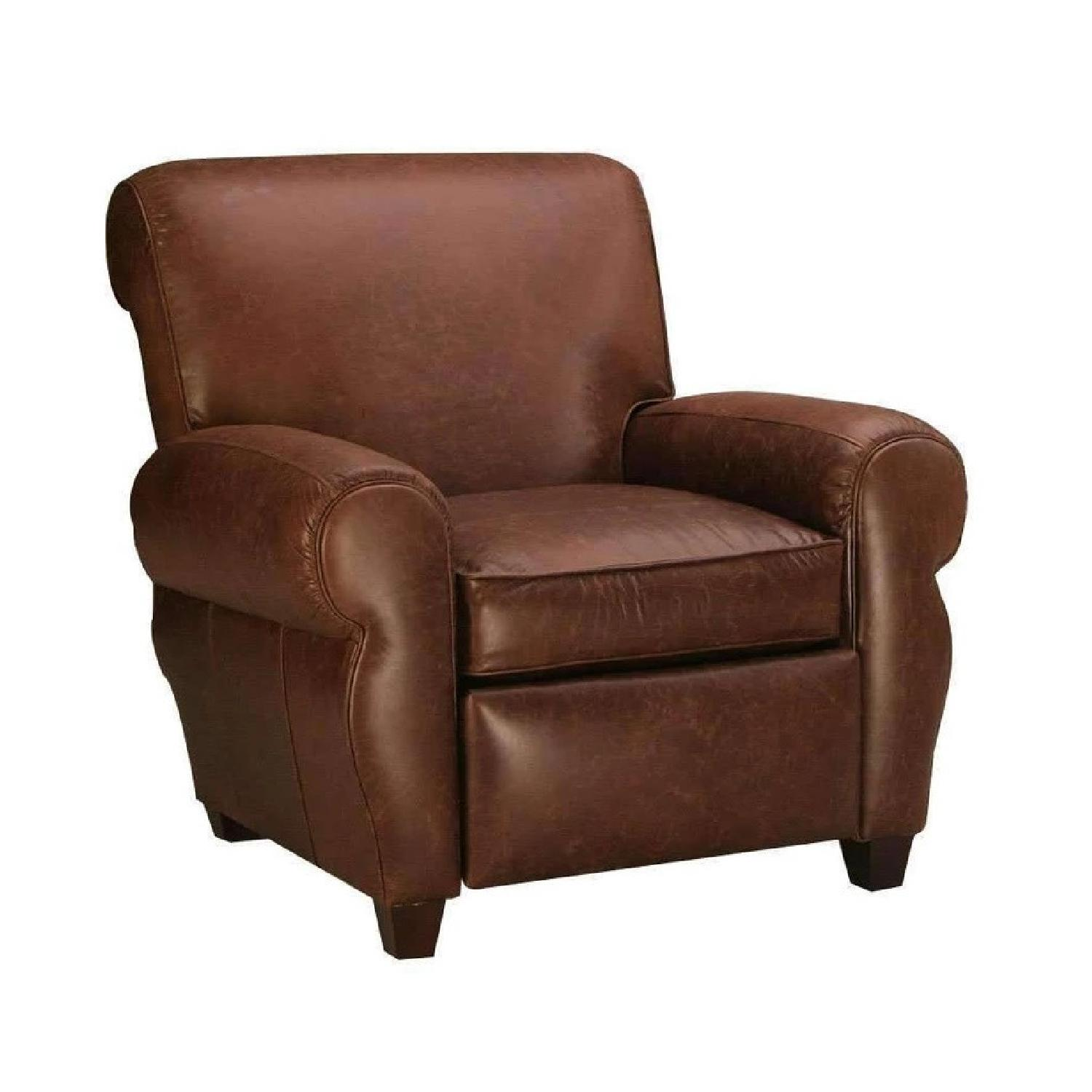 Club Furniture Parker Leather Club Chair Recliner - image-0