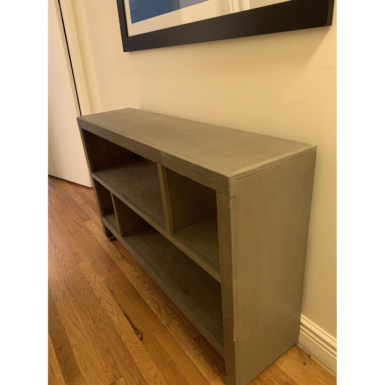 Grey Console/Bookshelf - image-3