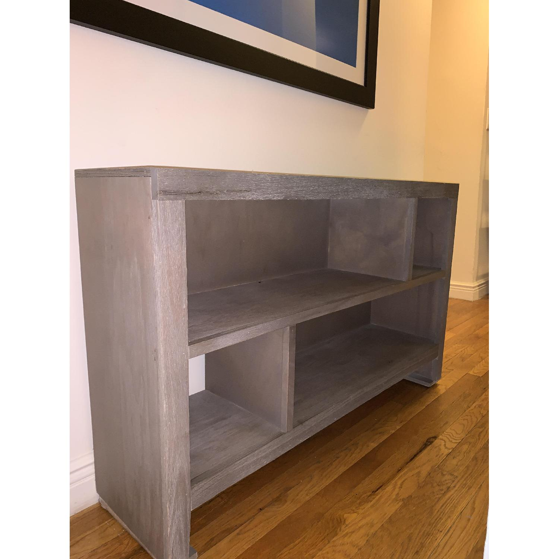 Grey Console/Bookshelf - image-4