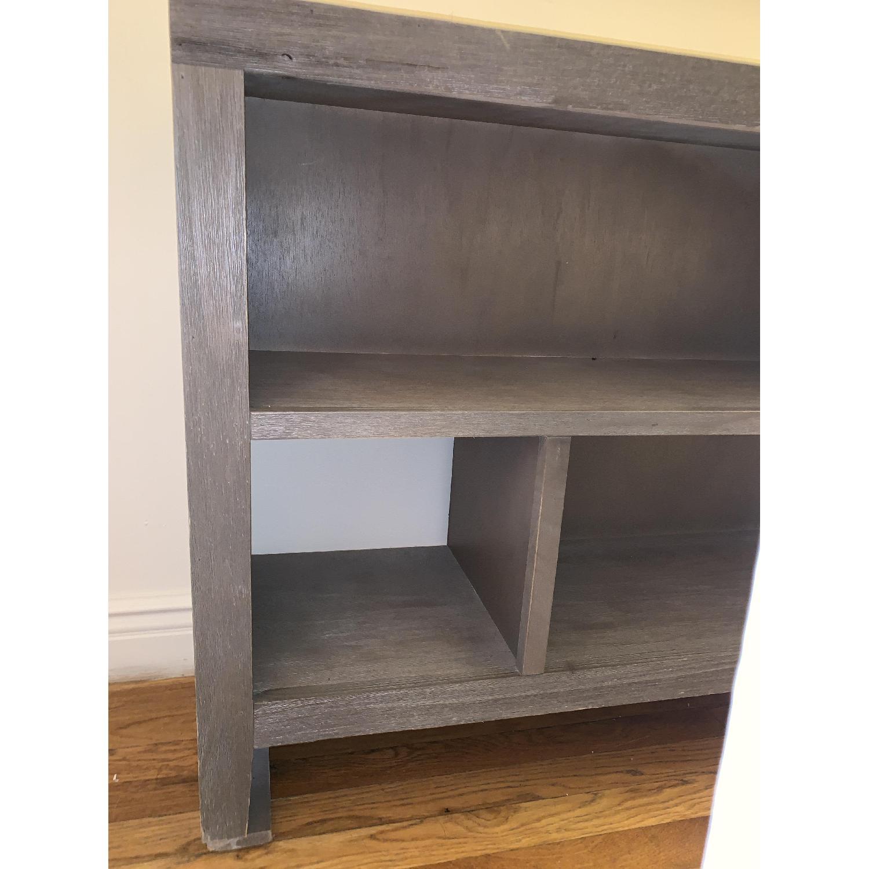 Grey Console/Bookshelf - image-5