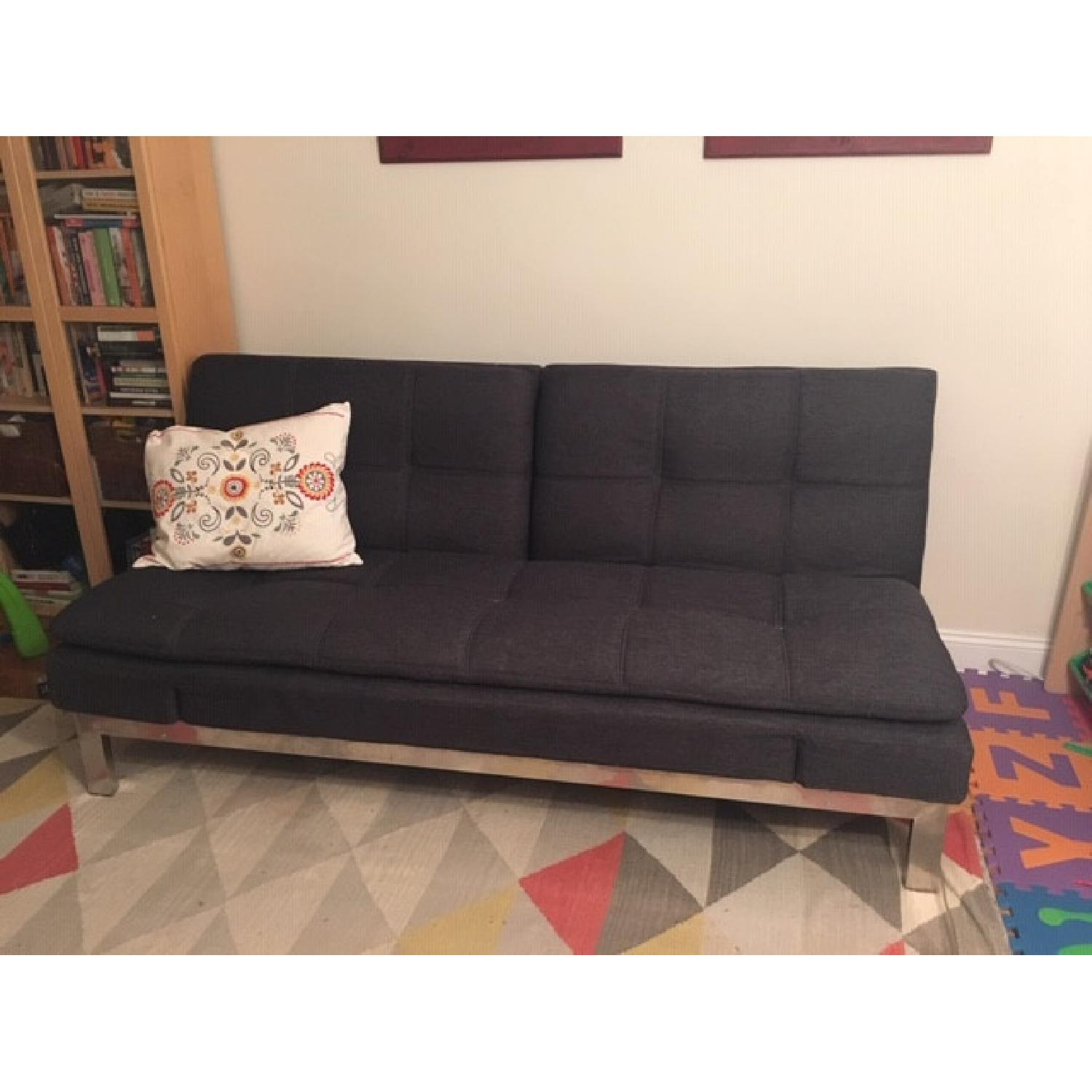 Lifestyle Solutions Serta Convertible Sofa - image-1