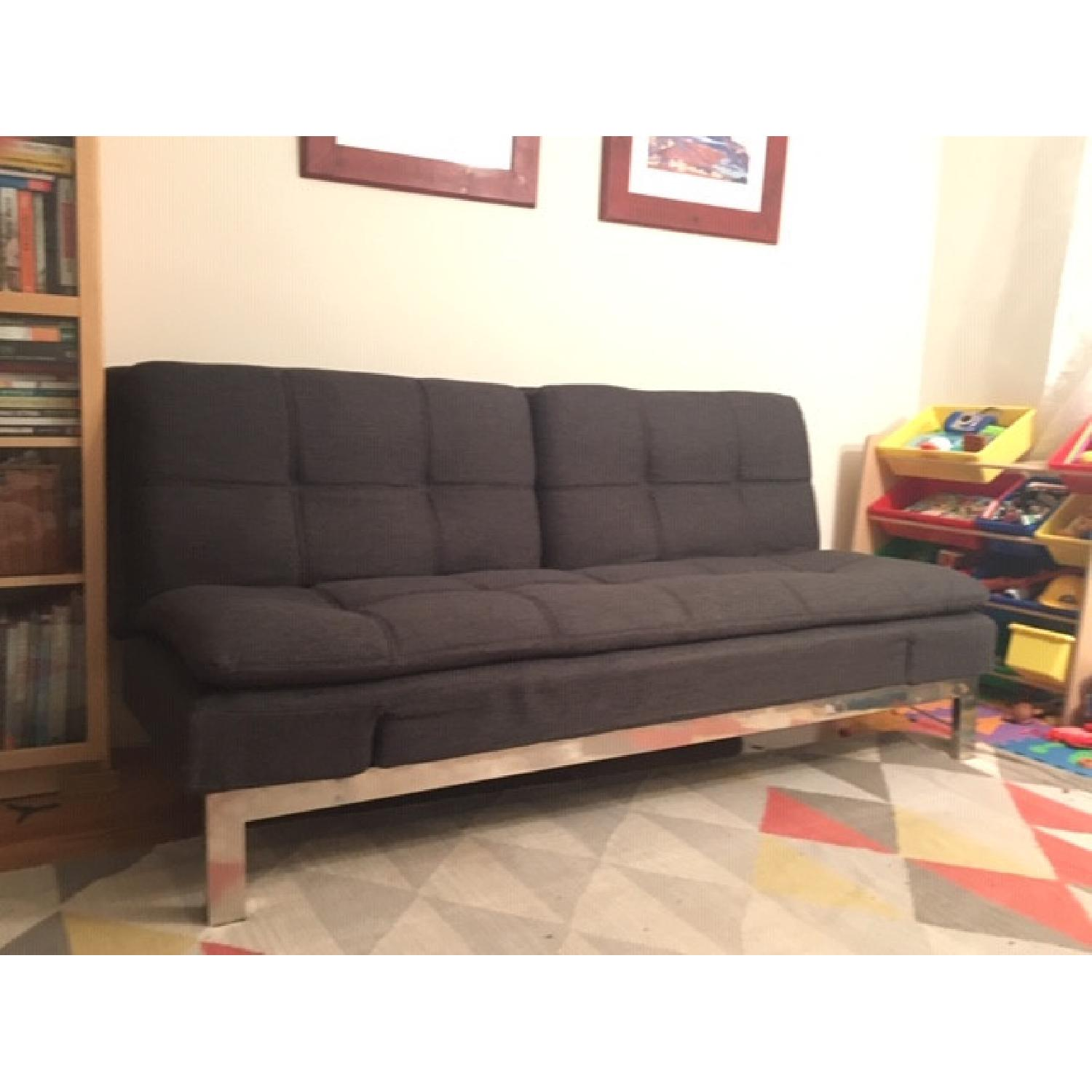 Lifestyle Solutions Serta Convertible Sofa - image-2