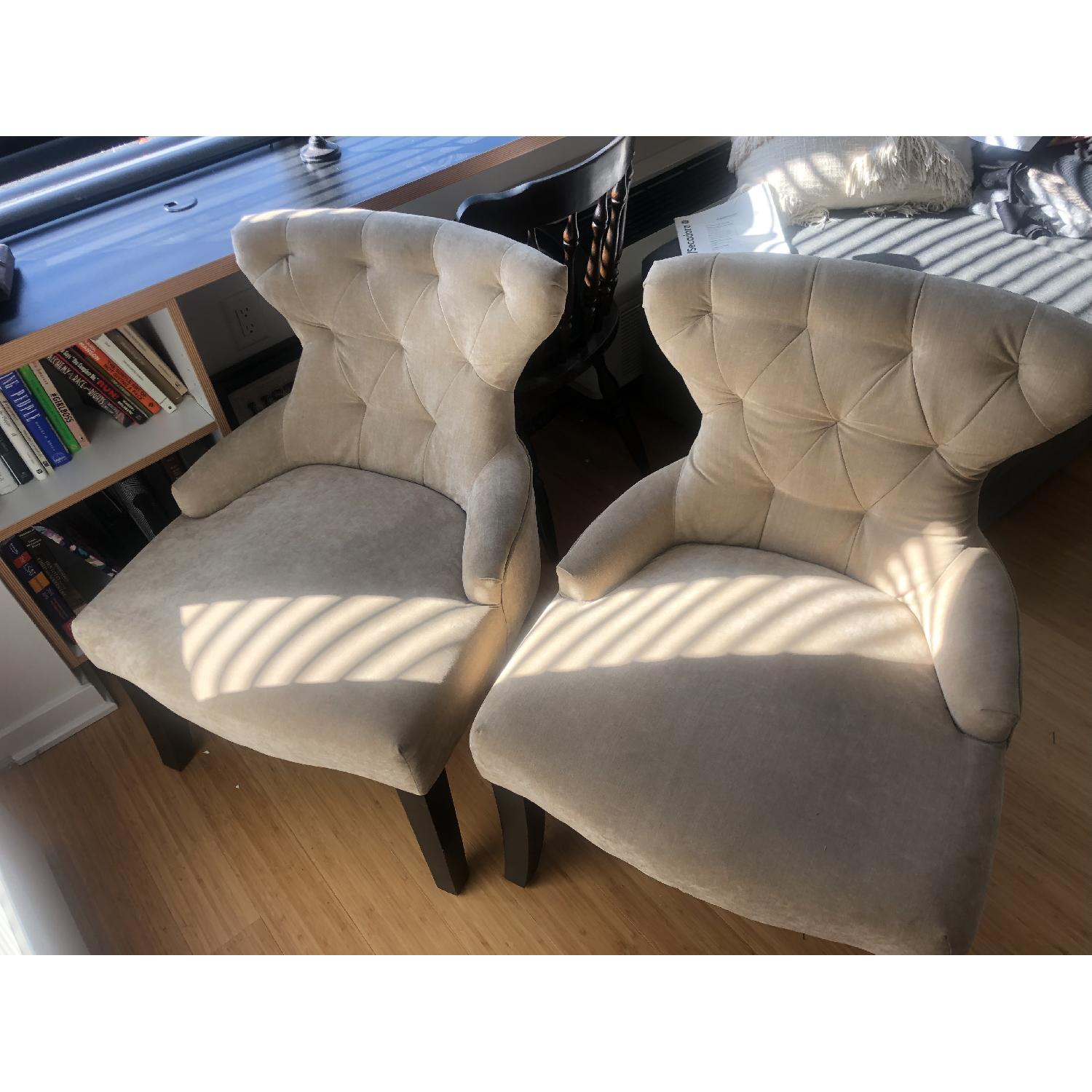 Tufted Accent Chairs - image-1