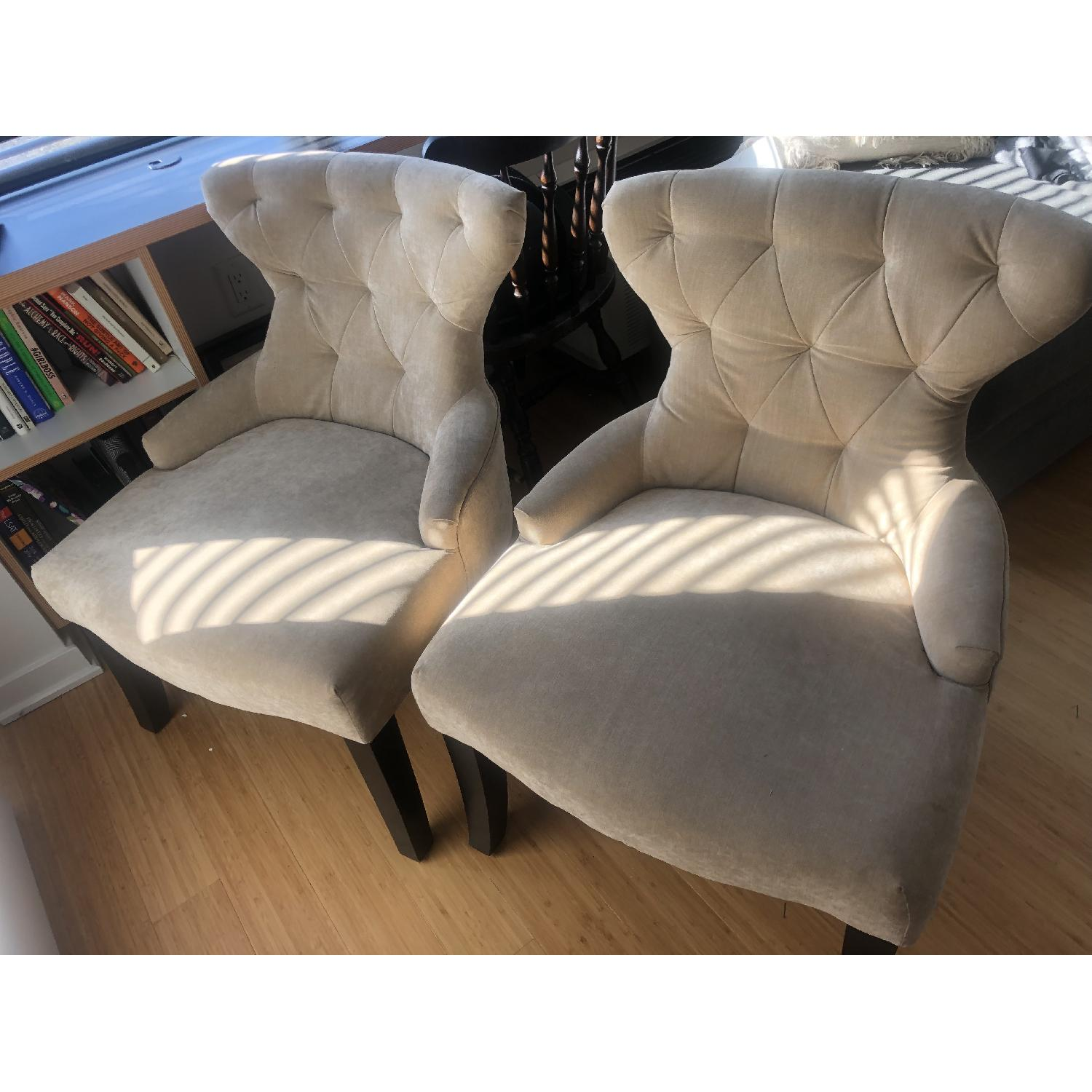 Tufted Accent Chairs - image-2