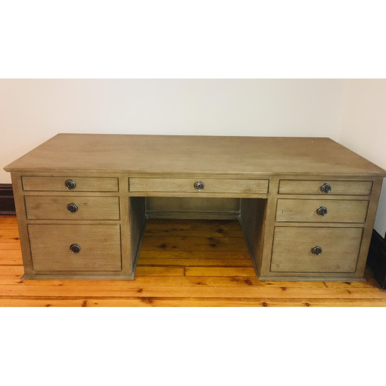Restoration Hardware Office Desk - image-1