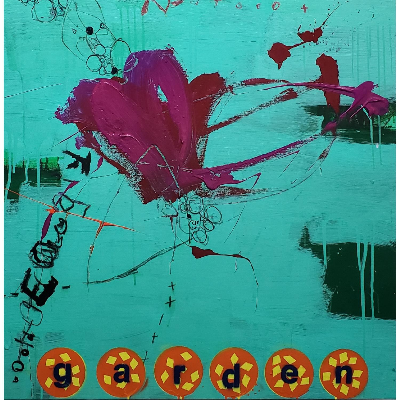 Alberto Riera Garden Series Painting - image-0