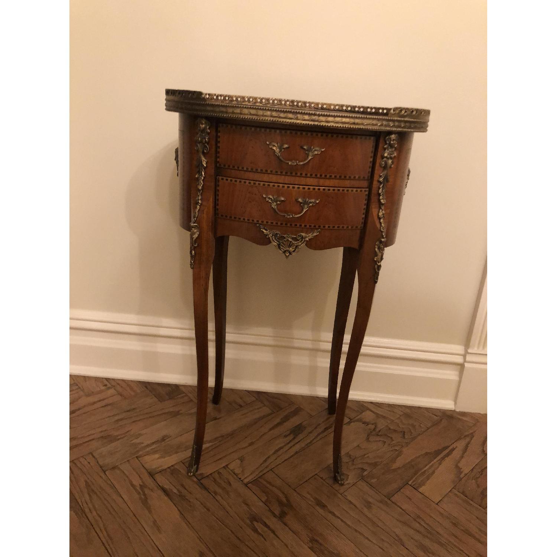 Antique Louis XVI Style Side Table - image-1