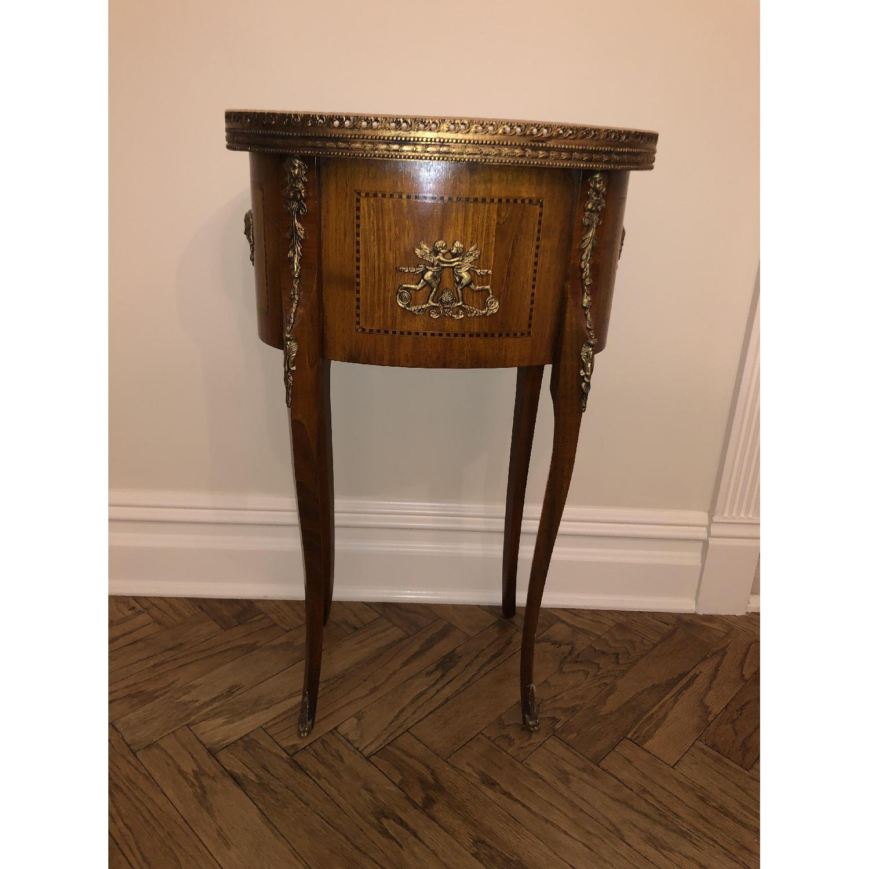 Antique Louis XVI Style Side Table - image-3