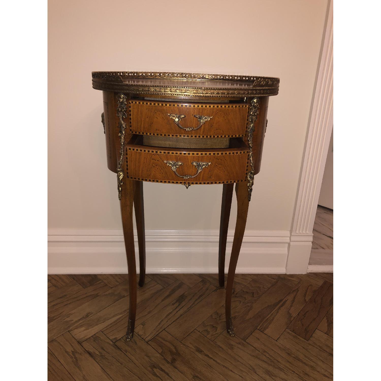 Antique Louis XVI Style Side Table - image-4