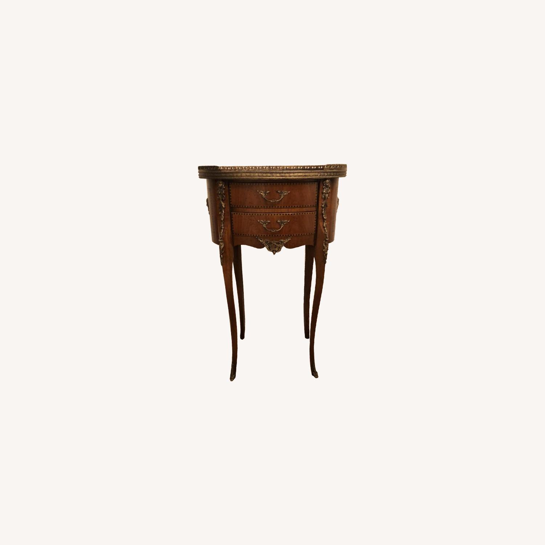 Antique Louis XVI Style Side Table - image-0