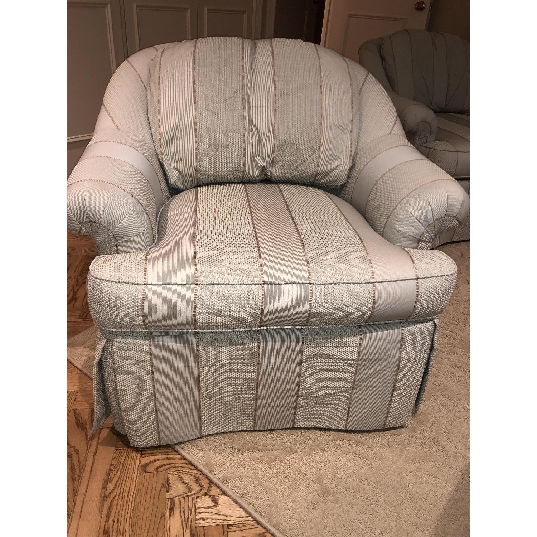 Swivel Arm Chairs - image-1