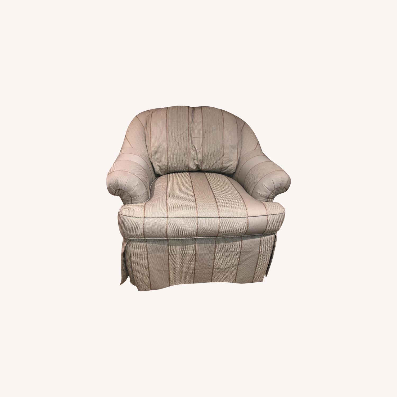 Swivel Arm Chairs - image-0
