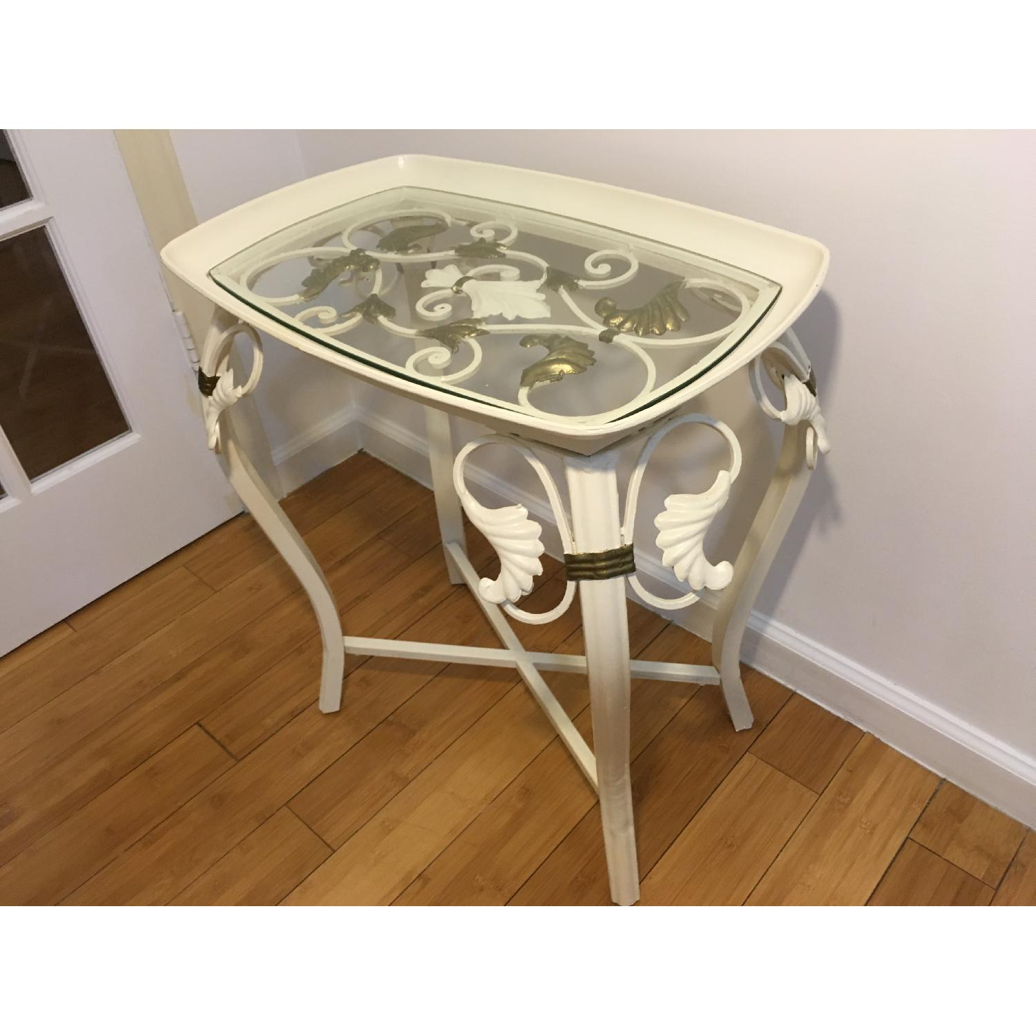 Indoor Outdoor Accent Table - image-1