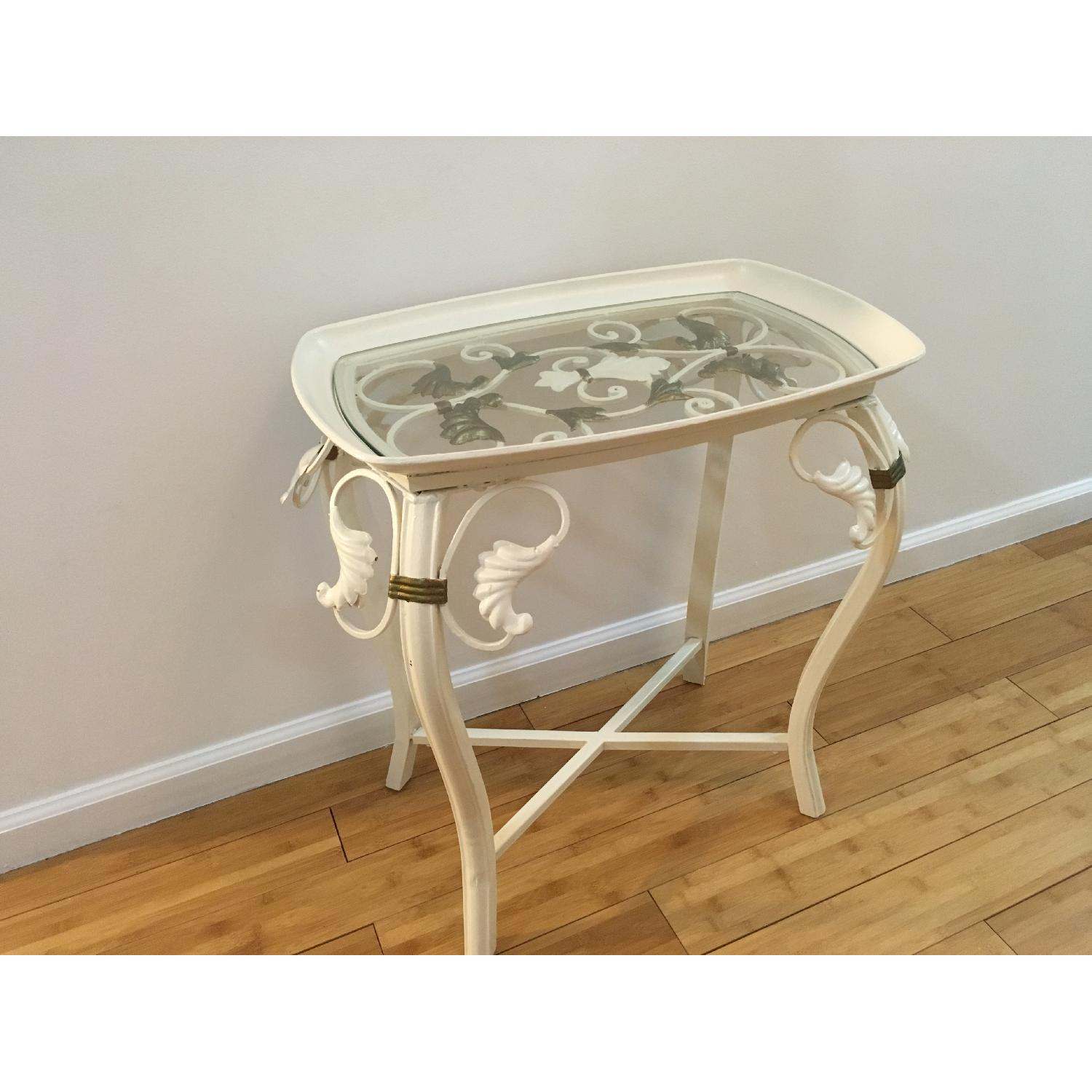 Indoor Outdoor Accent Table - image-3