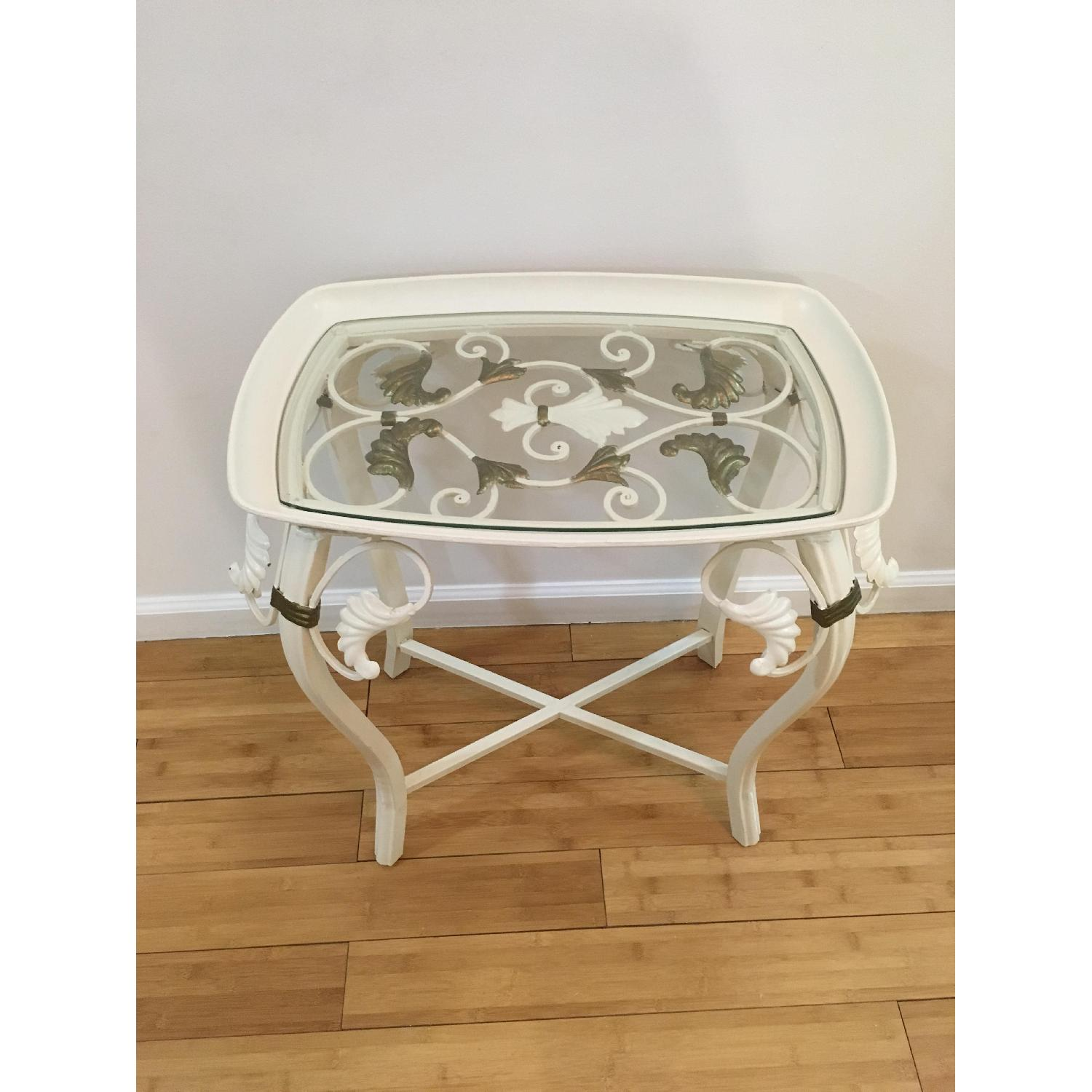 Indoor Outdoor Accent Table - image-0