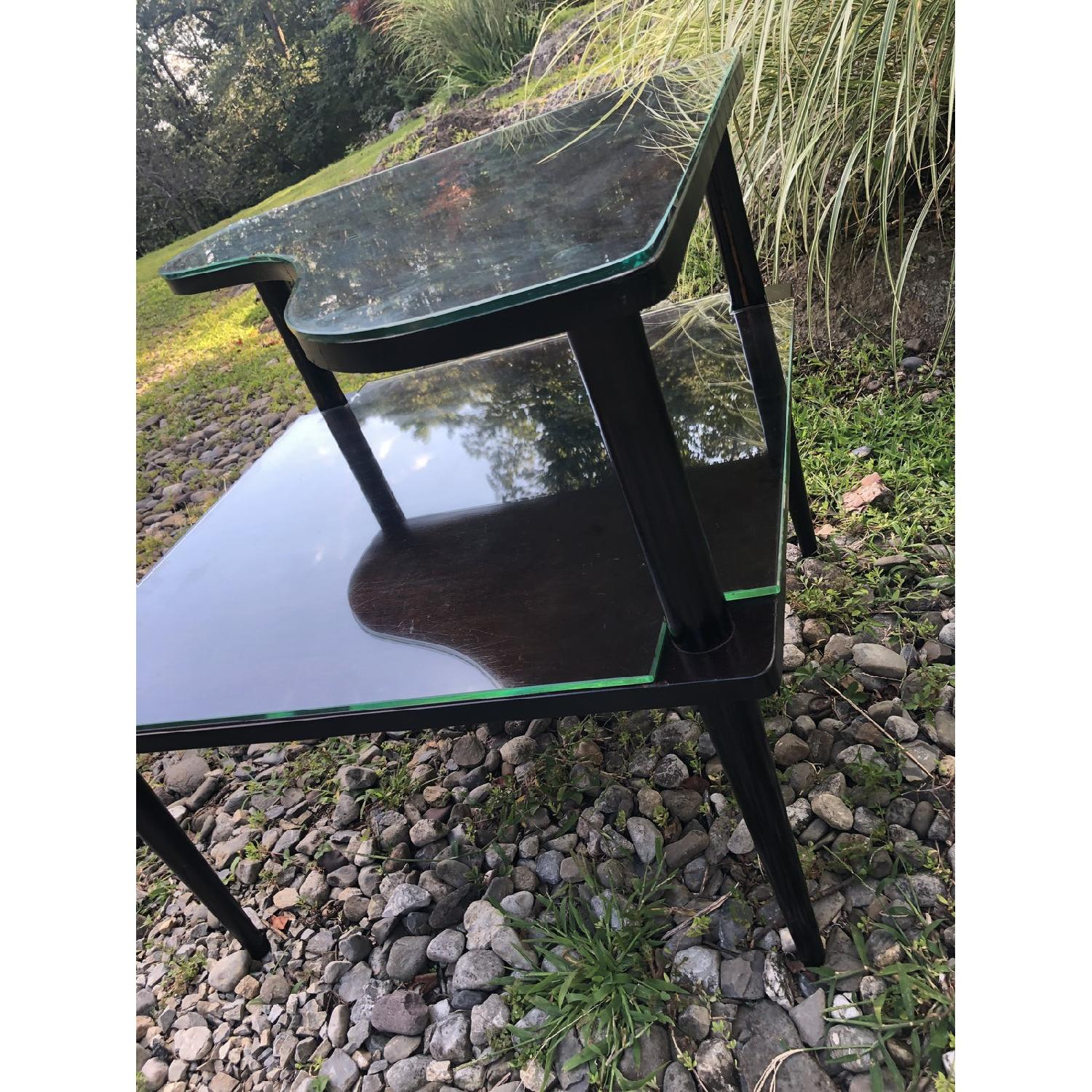 Mid Century Double Tier Side Corner Table - image-4