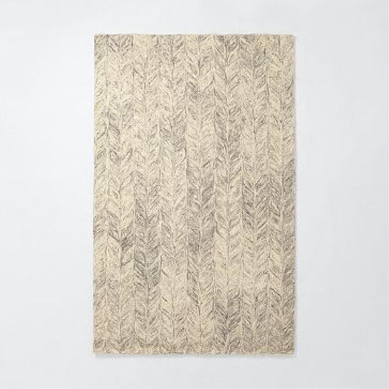 West Elm Vines Wool Rug - image-4