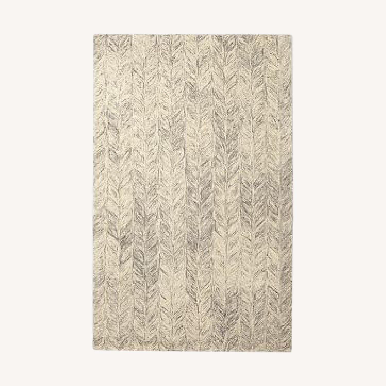 West Elm Vines Wool Rug - image-0