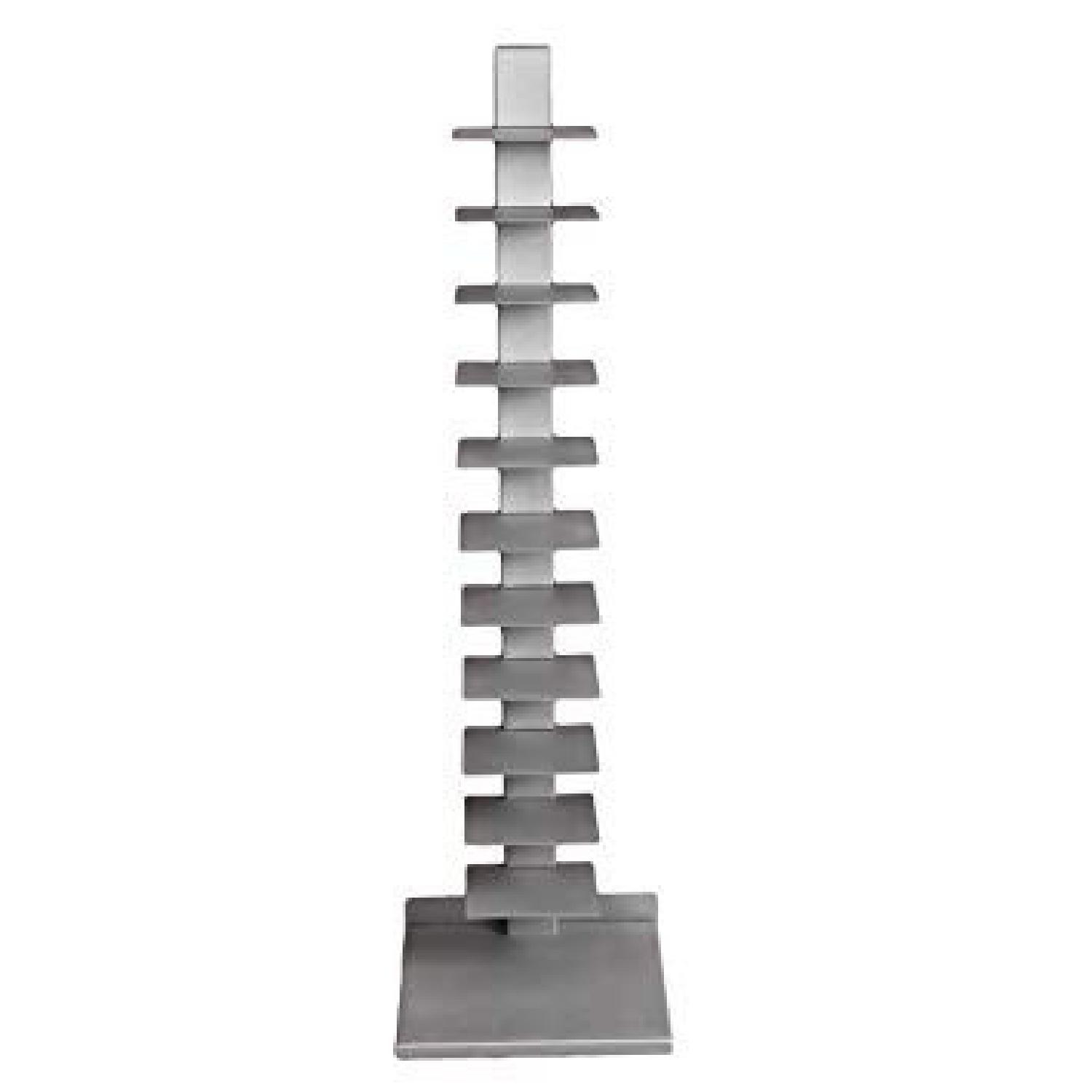 Southern Enterprises Spine Tower Metal Bookcases - image-1