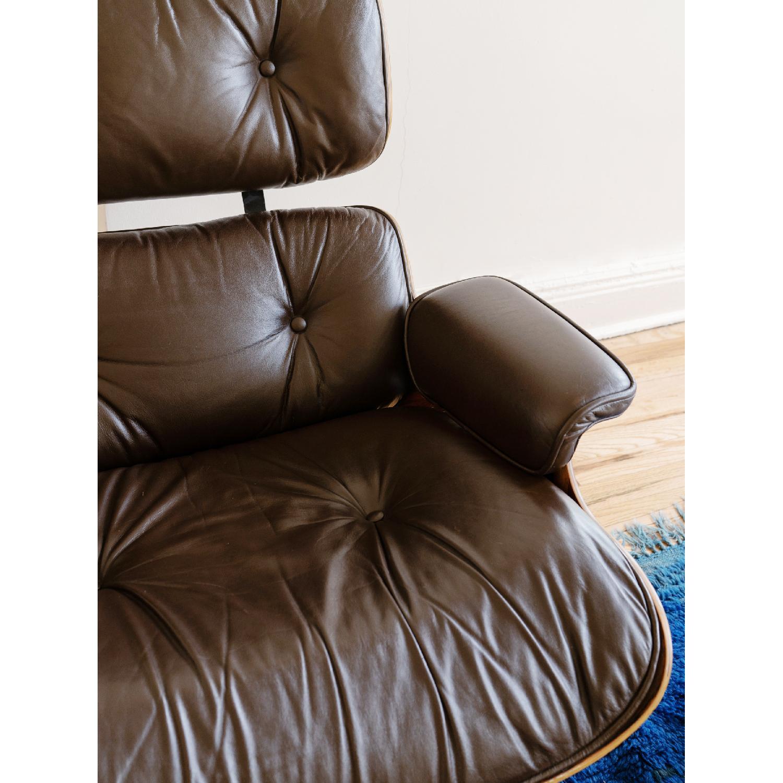 Herman Miller 1981 Vintage Eames Lounge Chair & Ottoman - image-4